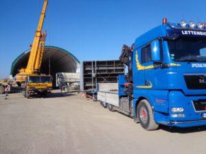 Transporte Lettenbichler GmbH Irschenberg | Spezialtransporte – Containertransporte - Krantransporte